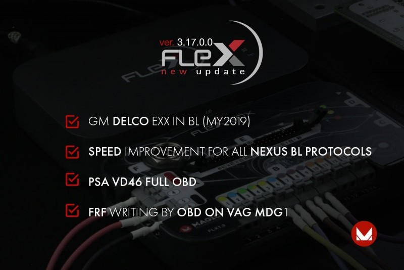 Magic Motorsport tool update: Flex 3.17.0.0
