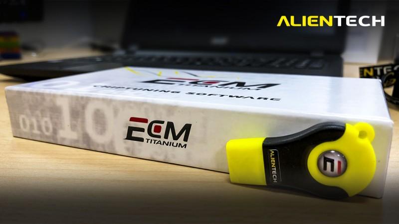 Alientech software update: ECM Titanium 2 0 | Tuning-Shop com