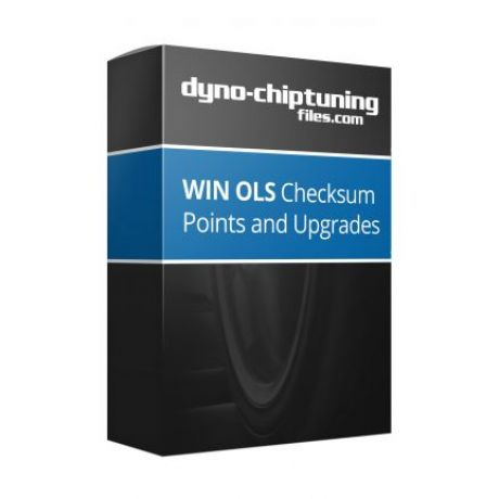 WinOLS 2 Checksum Points